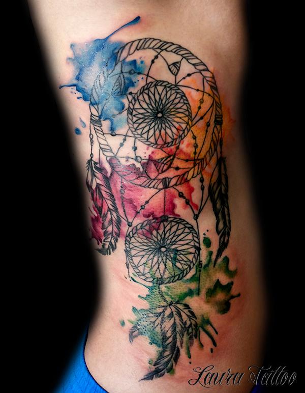 Acchiappasogni tatuaggio acqua re llo tatuaggio for Acchiappasogni disegno